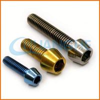 Factory supply good quality titanium bolts and nuts for bicycle