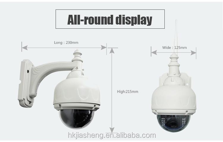 2016 горячие продаем 720 P low lux CMOS открытый водонепроницаемый HD wifi Сигнализация ИК 4 4xzoom SD speed dome cctv P2P ptz камеры