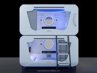 Morden design furniture parts for electric adjustable soft bunk metal bed