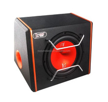 JD-10AD 10 inch PU leather wooden case big bass car subwoofer