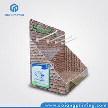 china fabricante de productos de forma rápida la exhibición cosmética caja de cartón para tienda al por menor