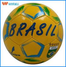 top sale official brazil 2014 world cup soccer ball factory