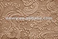 embossed hardboard panel/beech melamine mdf board