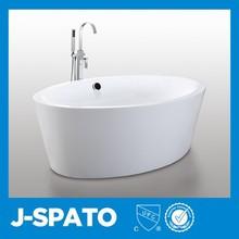 2015 China Wholesale Pretty Recumbent All-Round Rectangle Folding Plastic Bathtub Freestanding Acrylic Bath tubs JS-6827