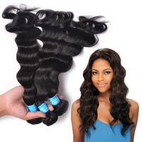 Quality SY Peruvian Deep Wave Virgin Hair 100% Peruvian Human Hair Weave Wavy Unprocessed Virgin Peruvian Hair