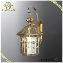 2015 hot sale outdoor lamp bronze wall light CE/VDE/UL