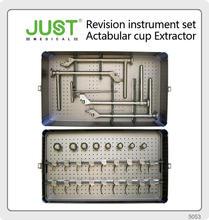 JUST Revision THA Instrument Set Acetabular cup removal modular bipolar hip prosthesis