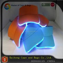 Flashing Light Up sun visor led light cap