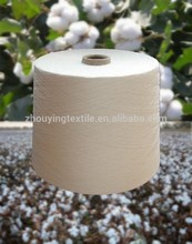 100% de algodón de alta calidad de hilado para tejer y hacer punto