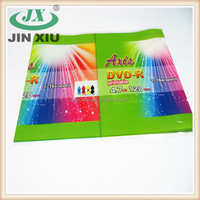 Wholesale adhesive heat seal plastic shrink labels for CD/DVD