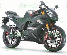 Motorcycle dual sport 200cc dual sportbike