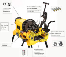 """SQ50E stainless steel pipe threading machine 2""""/plumbing pipe threading tools"""