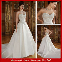 WD-725 Ivory sexy corset wedding gowns satin wedding dressing gowns satin wedding dress bridal gown