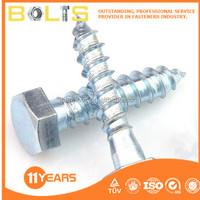 galvanized hex head self tapping screws