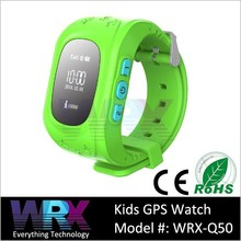 2015 Lastest GSM smart watch for kids with Pedometer anti-lost remote monitor