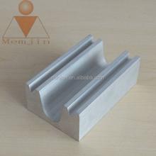 powder coating Aluminum extrusion frame profiles for solar border in grade 6000 series aluminum for industrial purpose