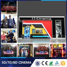 Great Fun Hydraulic/Electronic Amusement Park Equipment Simulator 7D Cinema