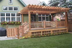 wpc decking pergola gazebo gazebo roof material