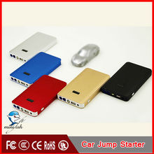Thin Metal Shell MINIFISH A6 New Global Unique Model 8000mah Capacity And 12v Vehicle Boot Port With CE/FCC/ROHS/UL Cert