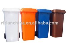 outdoor HDPE 240ltr dustbin with cover