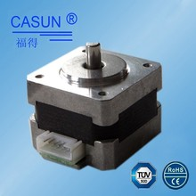 CE,ROHS,TUV approved nema 14 low noise 1.8deg small stepper motor,micro stepping motor small volume