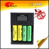 Digicharger Lcd Digital 4 bay/Slots charger High quality Universal charger PK Niteocre D4 charger