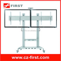 """Vertical rotation movable up and down tv mount with TV top-box plate FOR 40"""" - 60"""" LCD screen Flat Panel"""