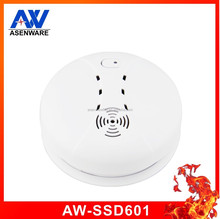 Fire Alarm Independent Photoelectric Smoke Detector With Sound And Flash Light