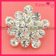 Crystal rhinestone button/handmade knitting sweaters for... used clothing WBK-1270