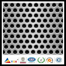 High Quality 0.6mm Aluminium Round Perforated Metal Mesh For Filter of Auto Gas Engine