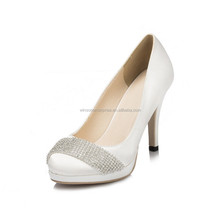 New Design 2016 Sexy Wedding Shoes White Wedding Shoes High Heel Women Dress Shoes