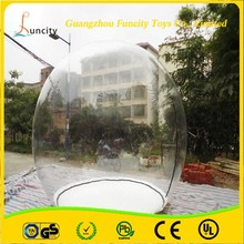 outdoor champing bubble tent transparant lawn tent