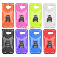 Buy direct from china TPU Rubber Phone Case Cover Hybrid Stand tpu case for samsung galaxy note 5 edge made in china