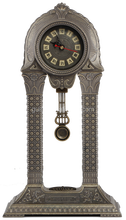 Retro Metal Table Clock with Cheap Price for Home Decoration