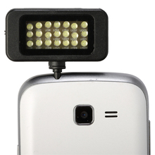 Hot sale 21 LED Light Flash&Fill-Light Adjustable Brigheness Taking Photos For iPhone 6 Plus/ 5S/Smasung IOS/ Android phone