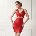 v senhoras pescoço design folha impressa vestido de noite vestido tamanho grande vestido das mulheres