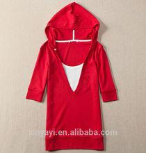 Las mujeres de moda jersey de sudaderas con capucha/suéters modelo para las señoras/comprador de prendas de vestir en europa