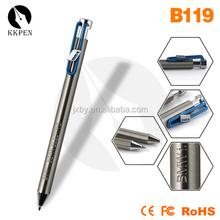 Gold Plating Clip Metal Pen High Quality Metal Ball Pen