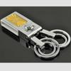 round clear blank acrylic keychain