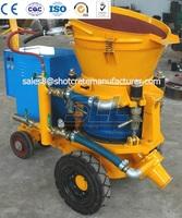 High Output Dry Mix Concrete Gunite Machine Dry Shotcrete Machine for Concrete and Sand