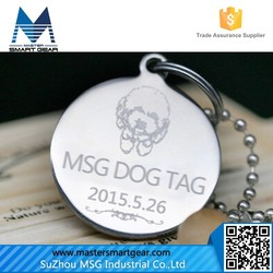 Cheap Aluminum Stainless Steel Blank Zinc Alloy Bone Shaped Dog Tags