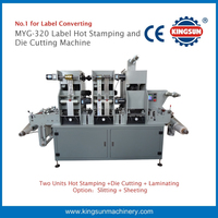 MYG-320 laser label hot foil stamping and die cutting machine