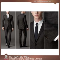 Latest fashion design china men suit factory for wedding