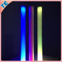 LED Foam Sticks With Printed Rainbow Foam Stick&LED Flashing Foam Cheer Stick&LED Foam Stick With Multicolor Color Changing