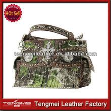 cowgirl fashion rhinestone western leather bag