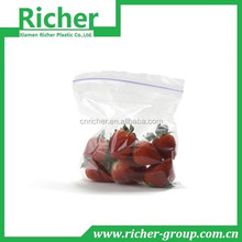 Eco-friendly food packaging sealable plastic bag