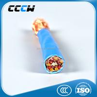copper core PVC insulated silicone rubber cable