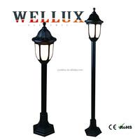 cheap [rice DIY market color box design plastic 1.2m garden pole light E27 60W outdoor light