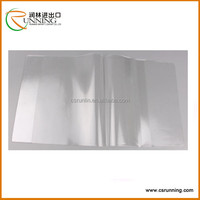 2015 China Supply Transparent School PVC Book Cover and plastic pvc card holder