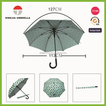 Lady sun protection umbrella uv auto open and close straight umbrella